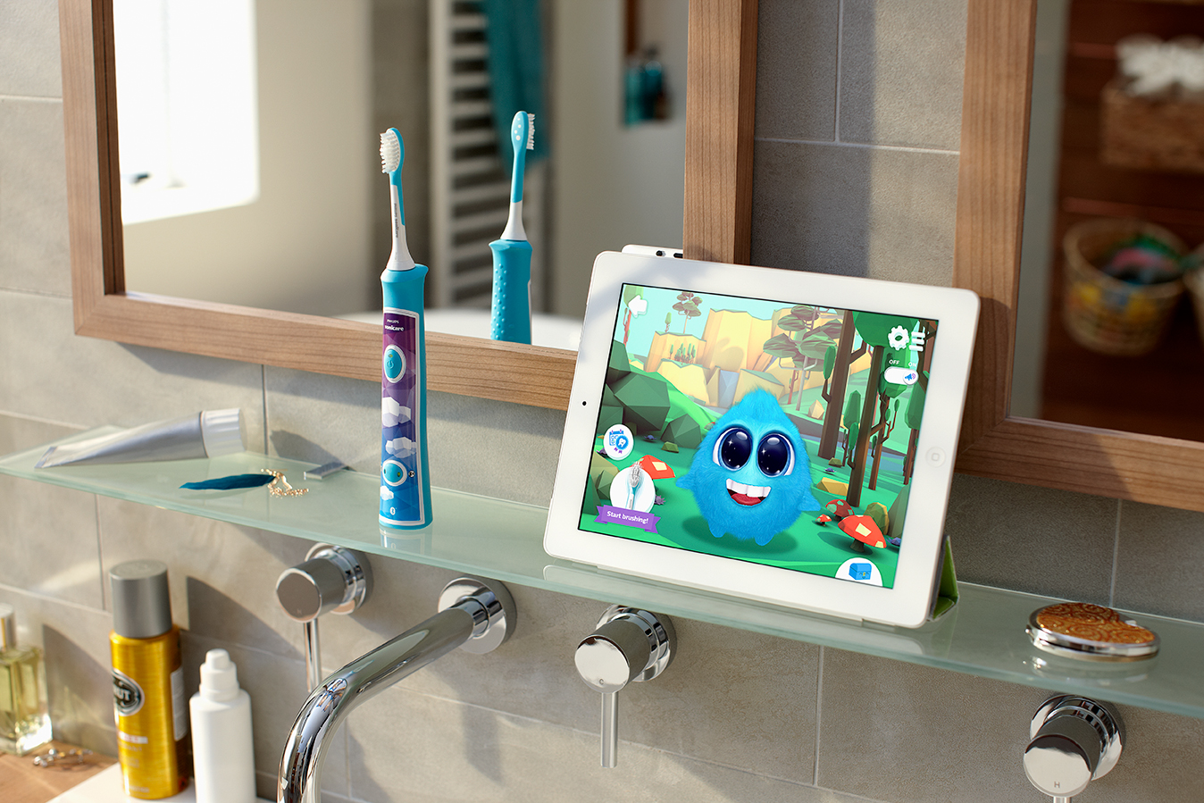 La nouvelle brosse à dents Sonicare For Kids facilite le brossage